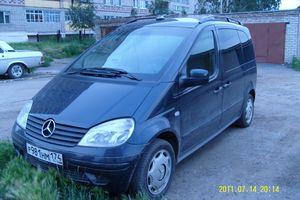 Автомобиль Mercedes-Benz Vaneo, среднее состояние, 2003 года выпуска, цена 250 000 руб., Челябинск
