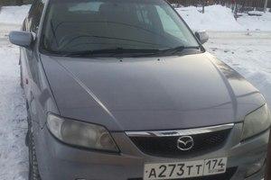 Автомобиль Mazda Familia, отличное состояние, 2002 года выпуска, цена 200 000 руб., Челябинск