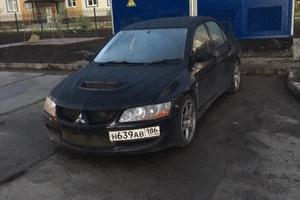 Автомобиль Mitsubishi Lancer Evolution, хорошее состояние, 2003 года выпуска, цена 660 000 руб., Нижневартовск