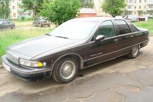 Автомобиль Chevrolet Caprice, среднее состояние, 1992 года выпуска, цена 95 000 руб., Йошкар-Ола