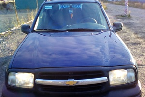 Автомобиль Chevrolet Tracker, хорошее состояние, 2001 года выпуска, цена 270 000 руб., Санкт-Петербург