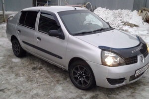 Подержанный автомобиль Renault Symbol, отличное состояние, 2007 года выпуска, цена 170 000 руб., Челябинск