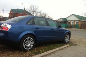Подержанный автомобиль Audi A4, хорошее состояние, 2002 года выпуска, цена 285 000 руб., Краснодар