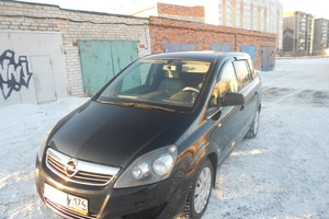 Подержанный автомобиль Opel Zafira, отличное состояние, 2011 года выпуска, цена 550 000 руб., Копейск