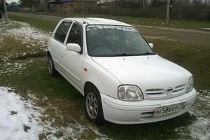 Автомобиль Nissan March, хорошее состояние, 2001 года выпуска, цена 140 000 руб., Тюмень