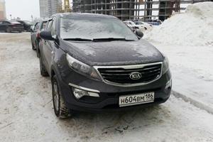 Подержанный автомобиль Kia Sportage, отличное состояние, 2015 года выпуска, цена 1 150 000 руб., Нижневартовск