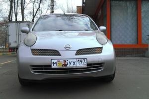Автомобиль Nissan March, хорошее состояние, 2002 года выпуска, цена 160 000 руб., Москва