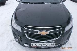 Автомобиль Chevrolet Cruze, битый состояние, 2013 года выпуска, цена 310 000 руб., Смоленск