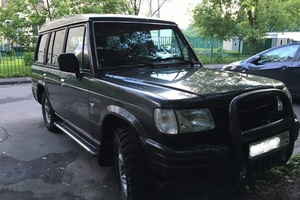 Автомобиль Hyundai Galloper, хорошее состояние, 1998 года выпуска, цена 250 000 руб., Москва