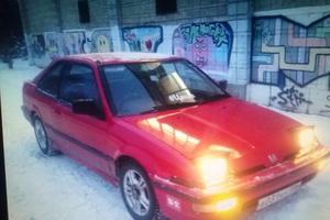 Автомобиль Honda Integra, хорошее состояние, 1990 года выпуска, цена 75 000 руб., Новоуральск