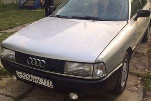 Автомобиль Audi 80, среднее состояние, 1991 года выпуска, цена 160 000 руб., Дубна