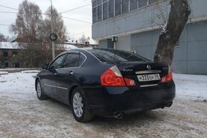 Автомобиль Nissan Fuga, хорошее состояние, 2005 года выпуска, цена 635 000 руб., Иркутск