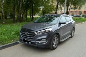 Автомобиль Hyundai Tucson, отличное состояние, 2016 года выпуска, цена 1 500 000 руб., Звенигород