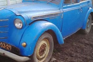 Автомобиль Москвич 400, среднее состояние, 1950 года выпуска, цена 60 000 руб., Белгородская область