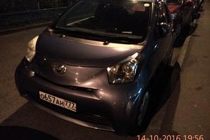 Автомобиль Toyota iQ, отличное состояние, 2009 года выпуска, цена 353 000 руб., Москва