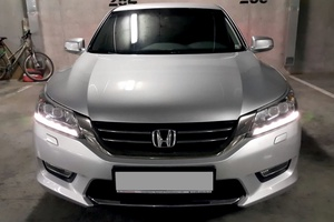 Подержанный автомобиль Honda Accord, отличное состояние, 2014 года выпуска, цена 1 289 000 руб., Челябинск