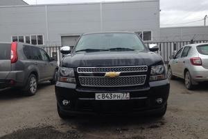 Автомобиль Chevrolet Tahoe, отличное состояние, 2013 года выпуска, цена 1 760 000 руб., Домодедово