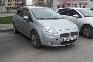 Автомобиль Fiat Punto, хорошее состояние, 2007 года выпуска, цена 270 000 руб., Челябинск