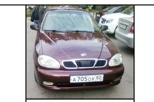 Автомобиль Daewoo Lanos, отличное состояние, 2012 года выпуска, цена 300 000 руб., Ялта