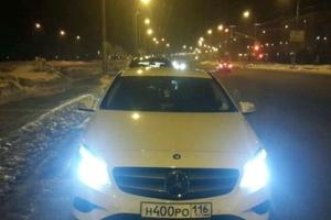 Автомобиль Mercedes-Benz A-Класс, отличное состояние, 2014 года выпуска, цена 1 200 000 руб., республика Татарстан