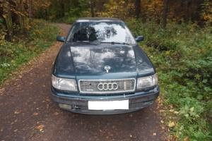Автомобиль Audi 100, среднее состояние, 1993 года выпуска, цена 135 000 руб., Москва