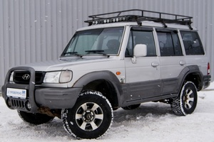 Авто Hyundai Galloper, 2002 года выпуска, цена 329 000 руб., Москва