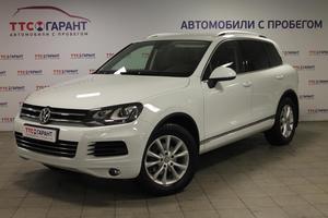Подержанный автомобиль Volkswagen Touareg, отличное состояние, 2013 года выпуска, цена 1 982 200 руб., Казань