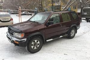 Подержанный автомобиль Nissan Pathfinder, хорошее состояние, 1997 года выпуска, цена 410 000 руб., Челябинск