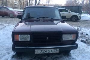 Автомобиль ВАЗ (Lada) 2107, хорошее состояние, 2006 года выпуска, цена 48 000 руб., Челябинск