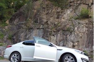 Подержанный автомобиль Kia Optima, отличное состояние, 2012 года выпуска, цена 900 000 руб., Нижневартовск