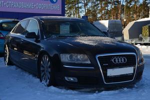 Подержанный автомобиль Audi A8, отличное состояние, 2007 года выпуска, цена 860 000 руб., Екатеринбург