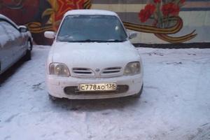 Автомобиль Nissan March, среднее состояние, 2001 года выпуска, цена 100 000 руб., Иркутск