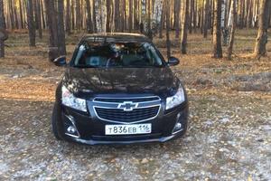 Автомобиль Chevrolet Cruze, отличное состояние, 2013 года выпуска, цена 520 000 руб., республика Татарстан