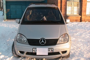 Автомобиль Mercedes-Benz Vaneo, хорошее состояние, 2002 года выпуска, цена 450 000 руб., Ростов-на-Дону