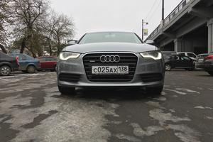 Подержанный автомобиль Audi A6, отличное состояние, 2012 года выпуска, цена 1 380 000 руб., Иркутск
