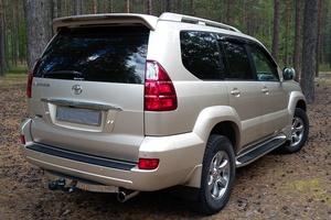 Подержанный автомобиль Toyota Land Cruiser Prado, отличное состояние, 2008 года выпуска, цена 1 700 000 руб., Югорск