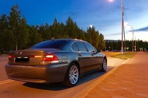 Подержанный автомобиль BMW 7 серия, хорошее состояние, 2002 года выпуска, цена 460 000 руб., Нижневартовск