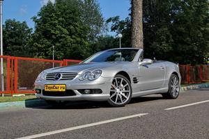 Авто Mercedes-Benz SL-Класс, 2002 года выпуска, цена 1 198 000 руб., Москва