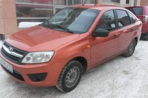Подержанный автомобиль ВАЗ (Lada) Granta, хорошее состояние, 2014 года выпуска, цена 295 000 руб., Магнитогорск