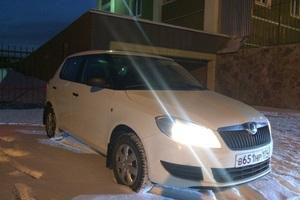 Подержанный автомобиль Skoda Fabia, отличное состояние, 2011 года выпуска, цена 375 000 руб., Челябинск