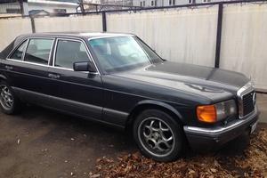 Подержанный автомобиль Mercedes-Benz S-Класс, хорошее состояние, 1992 года выпуска, цена 600 000 руб., Пушкино