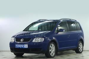 Авто Volkswagen Touran, 2005 года выпуска, цена 444 000 руб., Москва