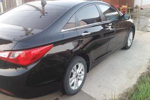 Подержанный автомобиль Hyundai Sonata, отличное состояние, 2010 года выпуска, цена 750 000 руб., Белореченск