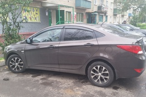Подержанный автомобиль Hyundai Solaris, отличное состояние, 2014 года выпуска, цена 620 000 руб., Подольск