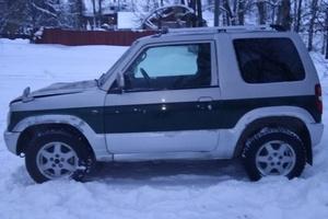 Автомобиль Mitsubishi Pajero Mini, хорошее состояние, 2002 года выпуска, цена 180 000 руб., Соликамск