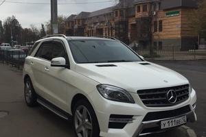 Подержанный автомобиль Mercedes-Benz M-Класс, отличное состояние, 2014 года выпуска, цена 3 550 000 руб., республика Татарстан