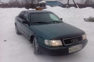 Подержанный автомобиль Audi 100, хорошее состояние, 1991 года выпуска, цена 115 000 руб., Москва