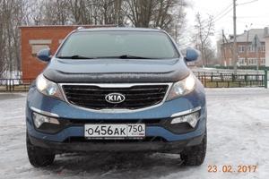 Автомобиль Kia Sportage, хорошее состояние, 2014 года выпуска, цена 950 000 руб., Луховицы