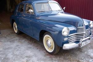 Автомобиль ГАЗ М-20 Победа, отличное состояние, 1964 года выпуска, цена 900 000 руб., Сергиев Посад