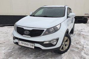Подержанный автомобиль Kia Sportage, отличное состояние, 2012 года выпуска, цена 835 000 руб., Московская область